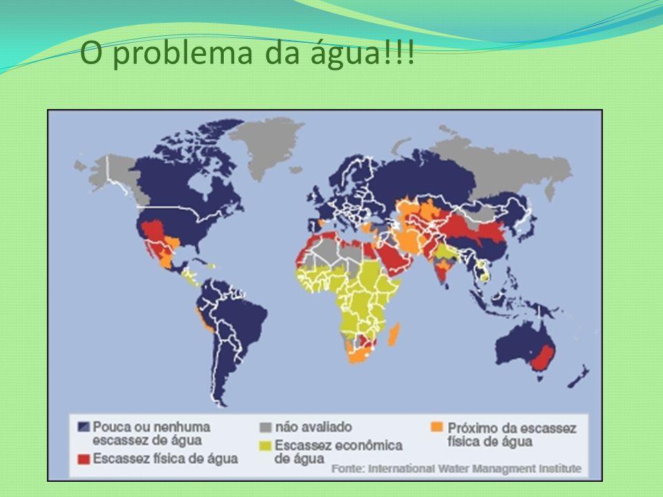 O problema da água!!!