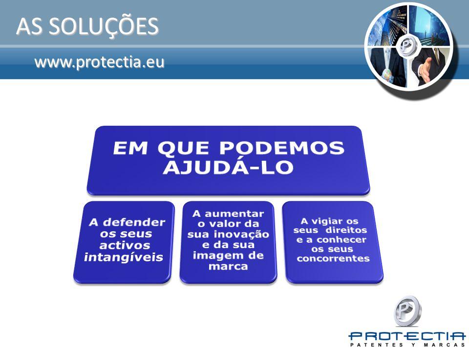 www.protectia.eu OS NOSSOS SERVIÇOS I Assessoria sobre registo de patentes.