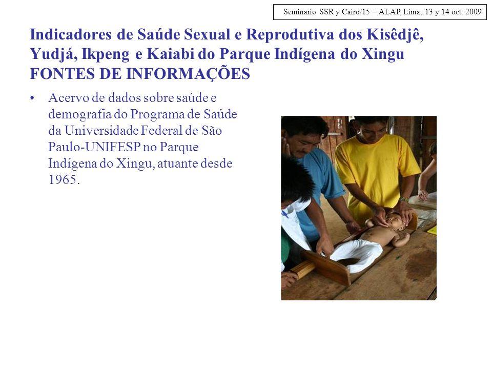 Seminario SSR y Cairo/15 – ALAP, Lima, 13 y 14 oct.