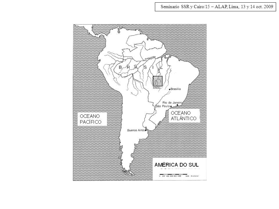 Seminario SSR y Cairo/15 – ALAP, Lima, 13 y 14 oct. 2009