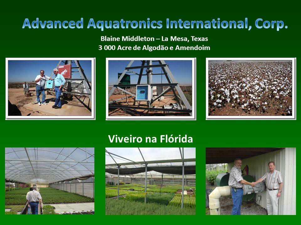 Blaine Middleton – La Mesa, Texas 3 000 Acre de Algodão e Amendoim Viveiro na Flórida