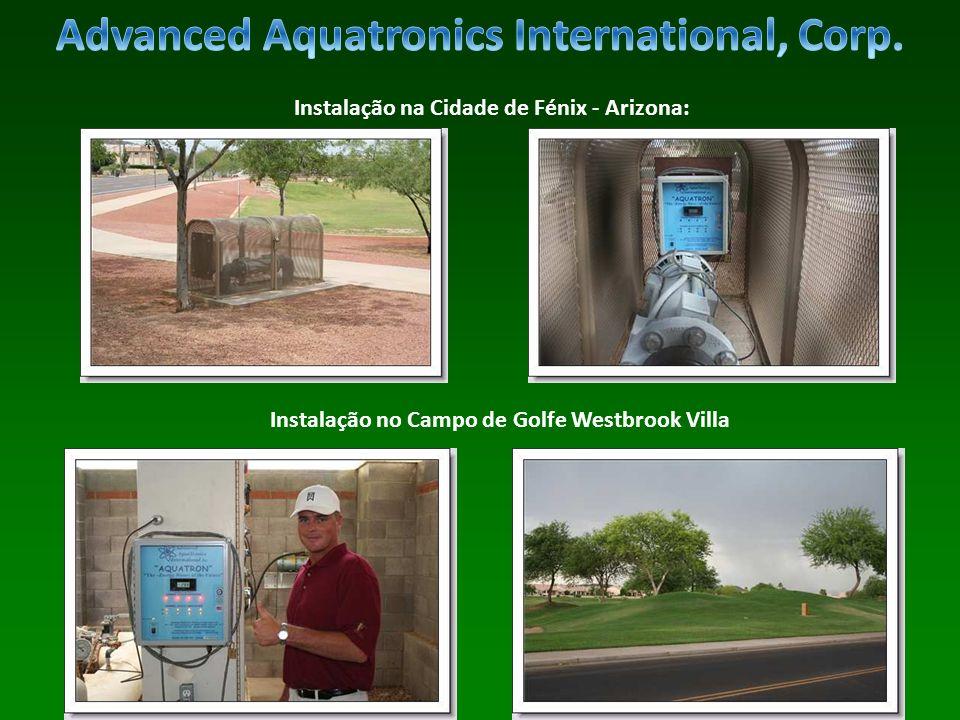 Instalação na Cidade de Fénix - Arizona: Instalação no Campo de Golfe Westbrook Villa