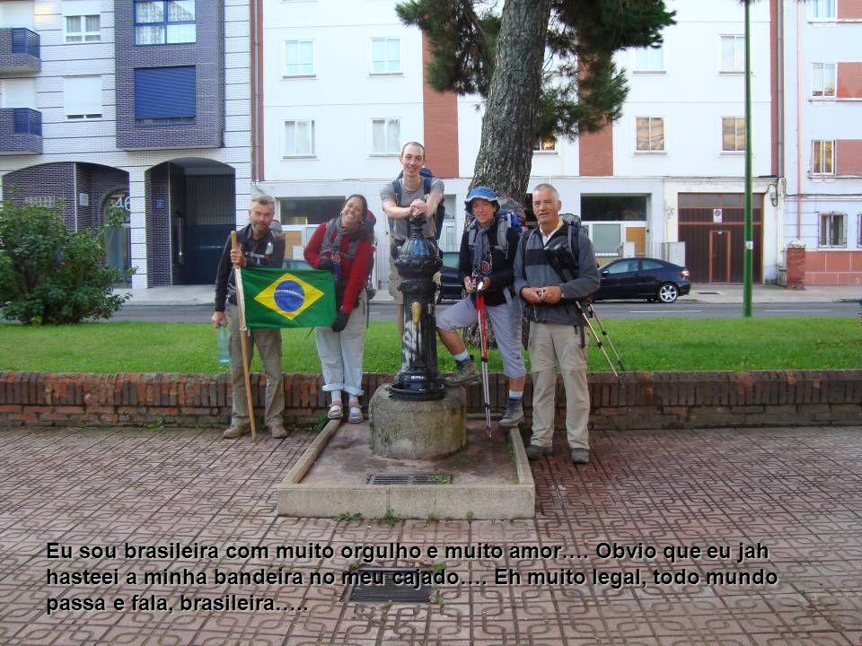 Eu sou brasileira com muito orgulho e muito amor….