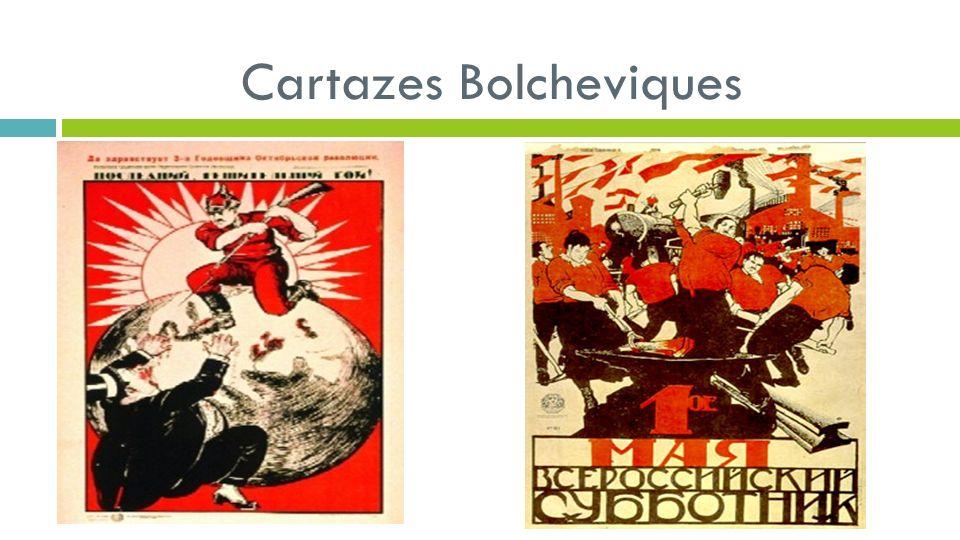 Cartazes Bolcheviques