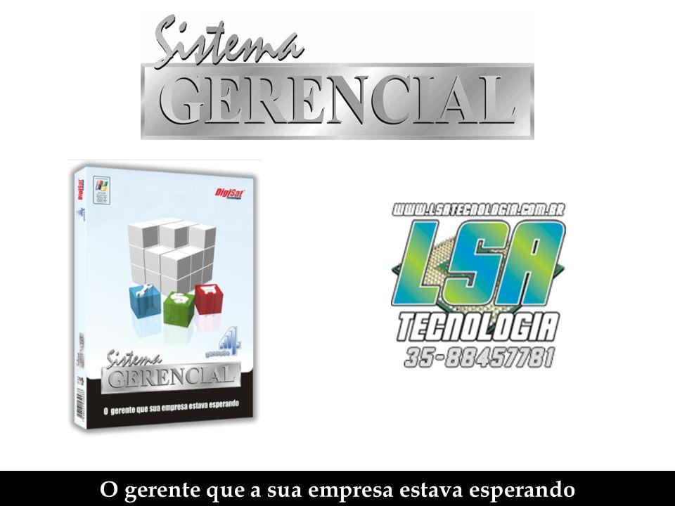 Sistema Comercial - Tela principal Permite alterar a quantidade do produto.