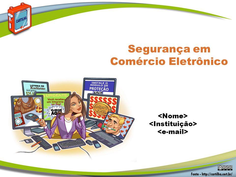 Segurança em Comércio Eletrônico