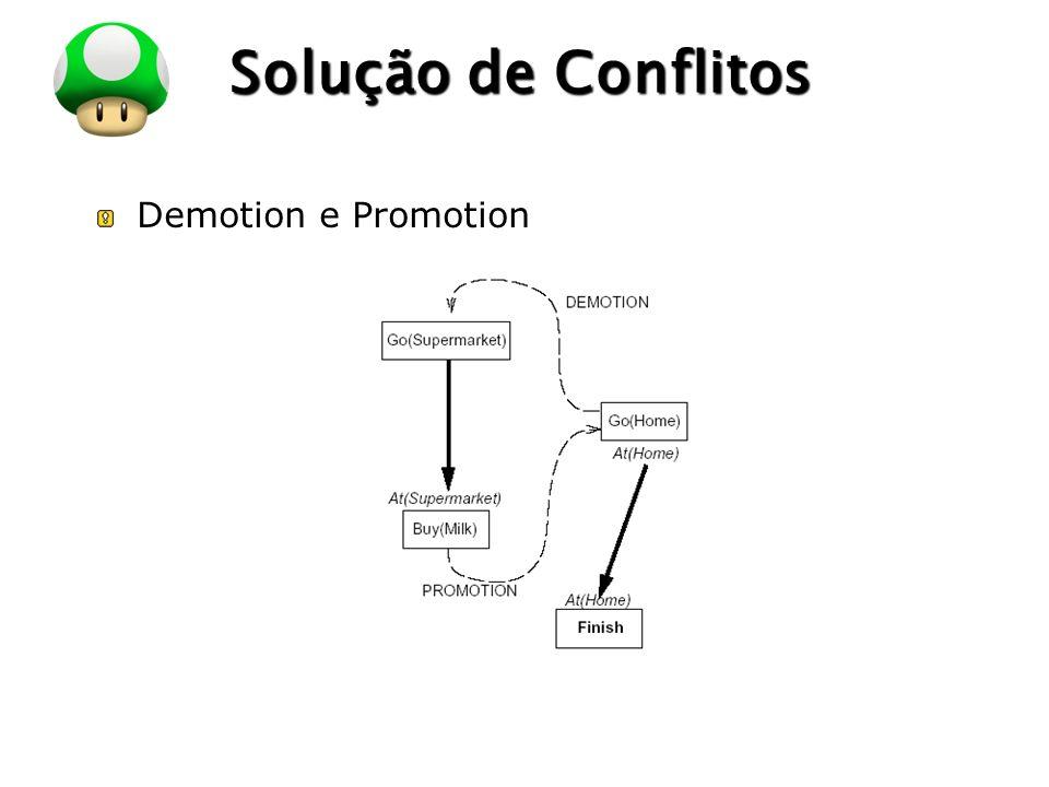 LOGO Solução de Conflitos Demotion e Promotion