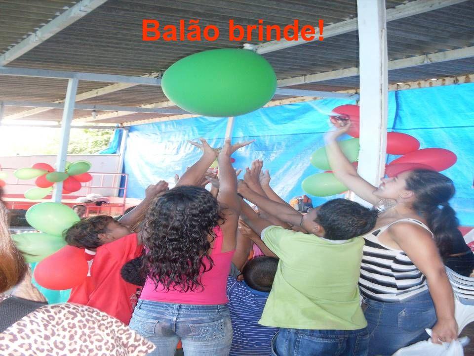 Balão brinde!