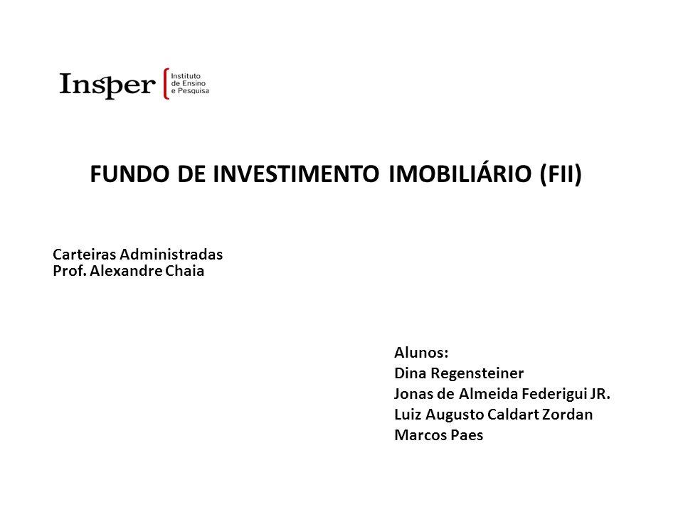 FUNDO DE INVESTIMENTO IMOBILIÁRIO (FII) – Mercado