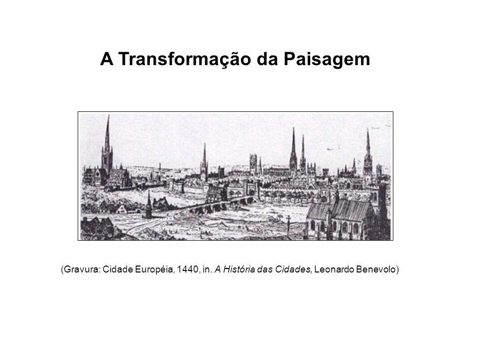 (Gravura: Cidade Européia, 1440, in.