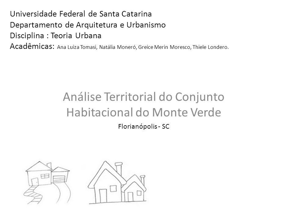 Universidade Federal de Santa Catarina Departamento de Arquitetura e Urbanismo Disciplina : Teoria Urbana Acadêmicas: Ana Luiza Tomasi, Natália Moneró