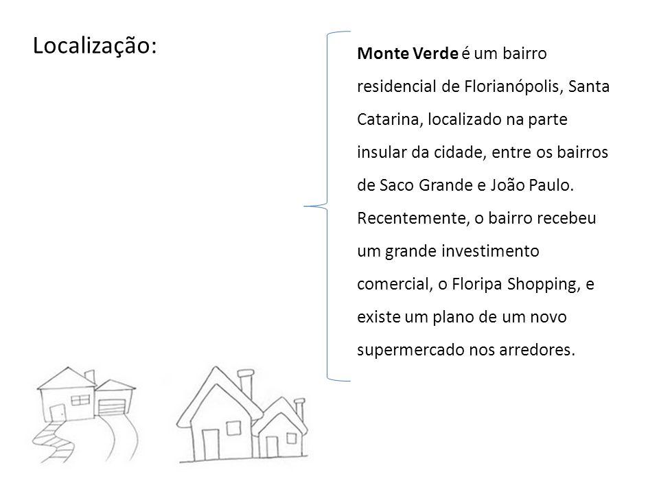 Monte Verde é um bairro residencial de Florianópolis, Santa Catarina, localizado na parte insular da cidade, entre os bairros de Saco Grande e João Pa