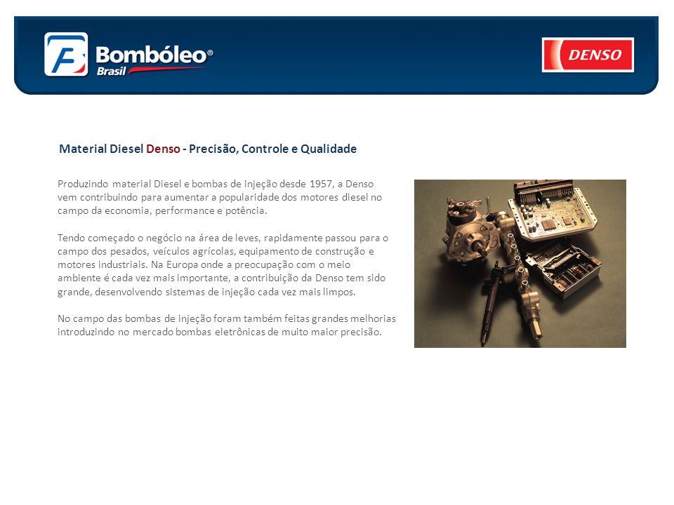 Sistema Common Rail Denso Os motores diesel combinam a excelente economia de combustível e de energia, a sua popularidade está crescendo no Brasil.