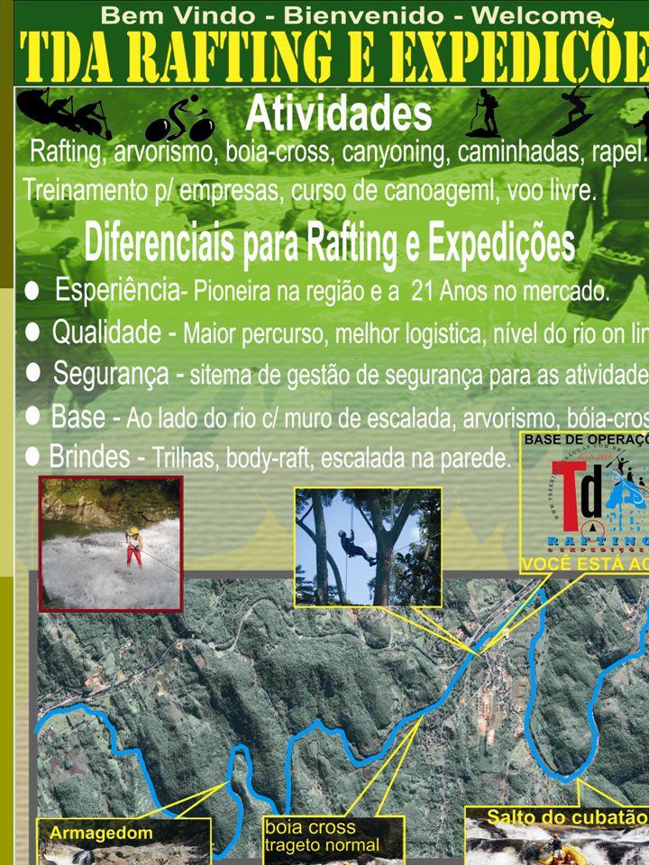 contato TDA – Trekking das Águas Rafting & Expedições Rod.