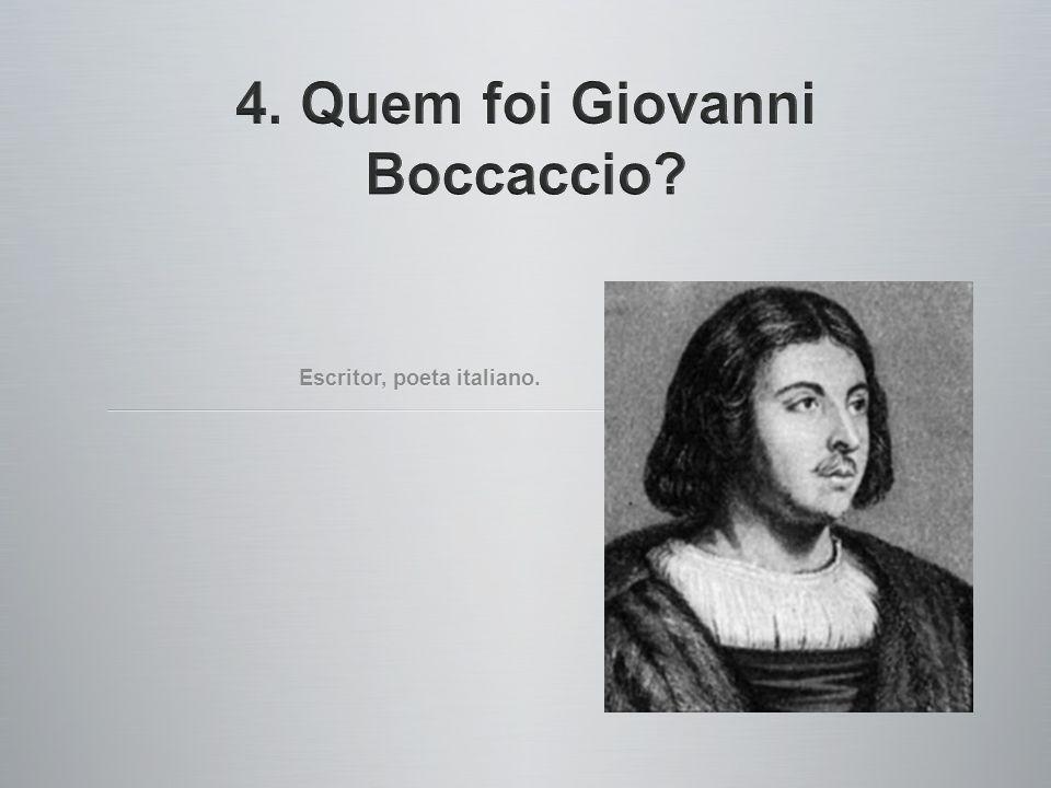Escritor, poeta italiano.