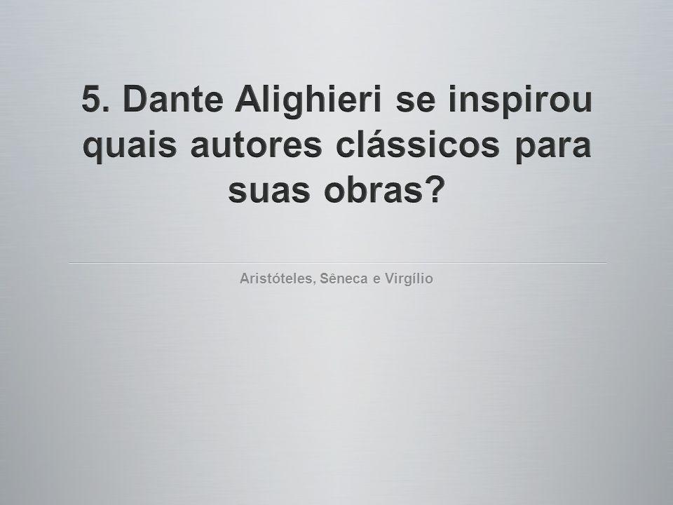 Aristóteles, Sêneca e Virgílio