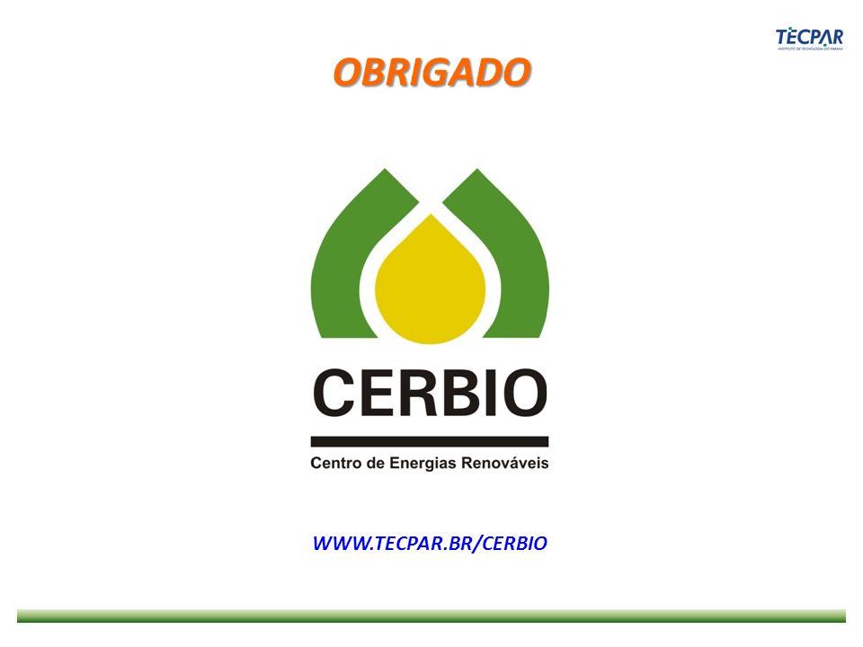 OBRIGADO WWW.TECPAR.BR/CERBIO
