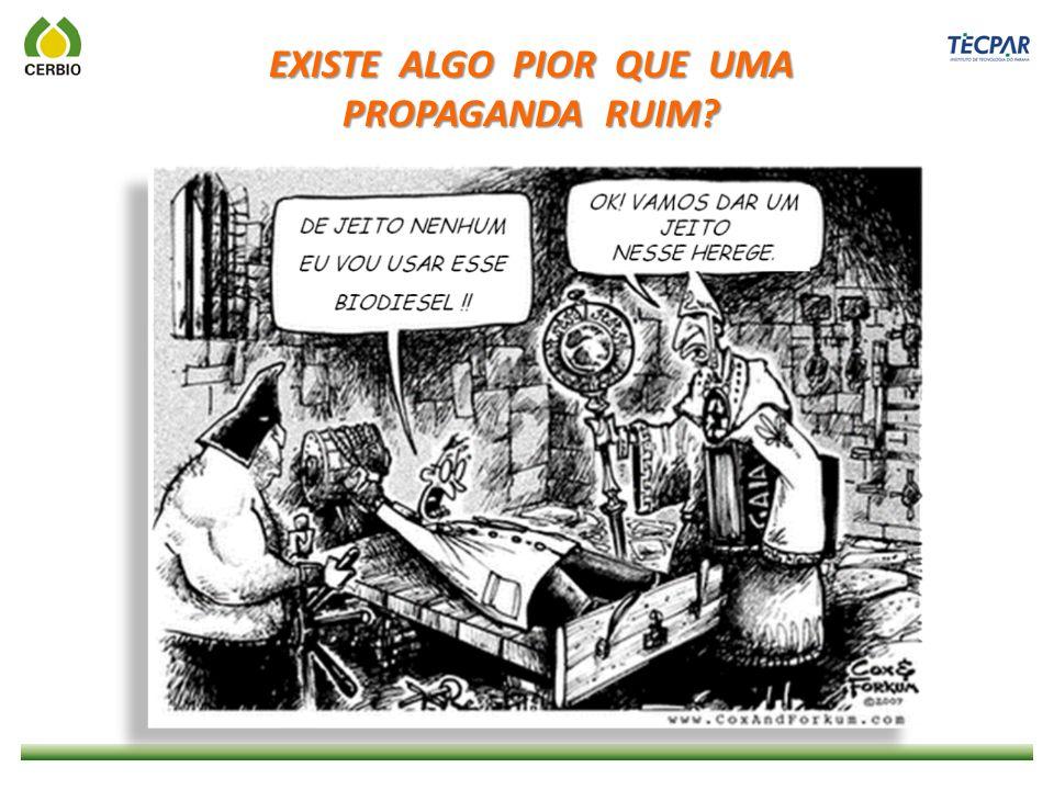 A QUALIDADE DO BIODIESEL DEVE SER INQUESTIONÁVEL !.