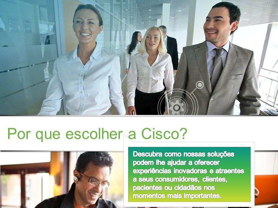 Confidencial da Cisco © 2013 Cisco e/ou suas afiliadas. Todos os direitos reservados. 11 Por que escolher a Cisco?