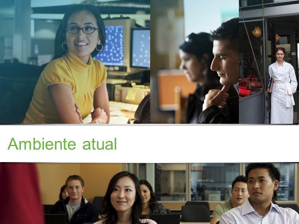 Confidencial da Cisco © 2013 Cisco e/ou suas afiliadas. Todos os direitos reservados. 3 Ambiente atual