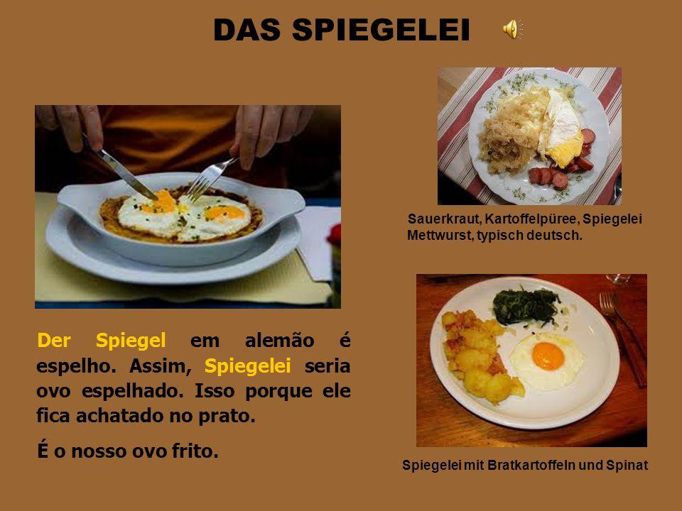 DIE EIER Das Ei é ovo (plural die Eier). São muitas modalidades de ovo e vamos apresentar apenas algumas. Primeiramente importante saber que parte do