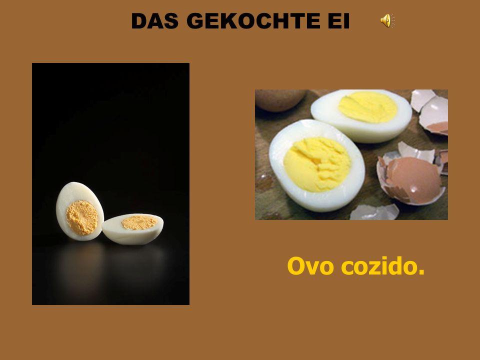 DAS SPIEGELEI Der Spiegel em alemão é espelho. Assim, Spiegelei seria ovo espelhado. Isso porque ele fica achatado no prato. É o nosso ovo frito. Saue