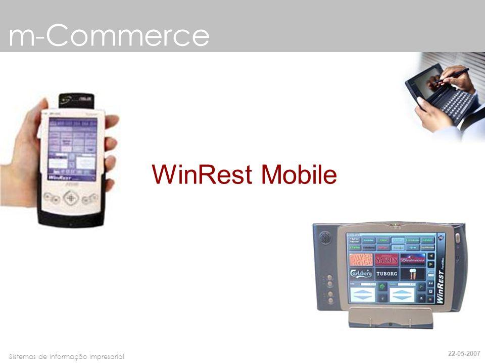 Faro, 10 de Março de 2007Sistemas de Informação Impresarial m-Commerce Qual é a diferença.