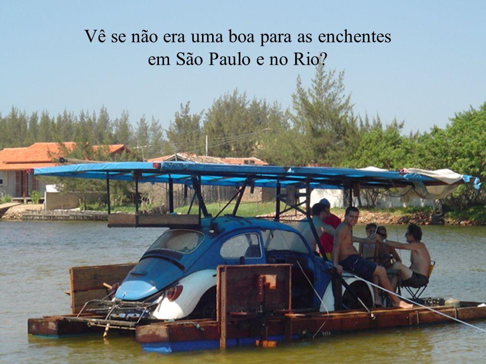 Vê se não era uma boa para as enchentes em São Paulo e no Rio?