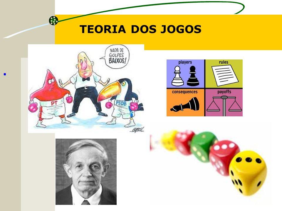 Terminologia para Teoria de Jogos Existe um conjunto de axiomas fundamentando a teoria de utilidade (LUCE & RAIFFA, 1957), a qual foi proposta já na concepção da teoria de jogos por VON NEUMANN & MORGENSTERN (1944).