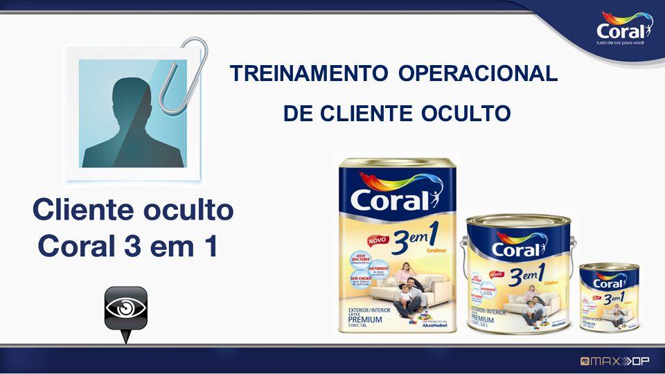 TREINAMENTO OPERACIONAL DE CLIENTE OCULTO