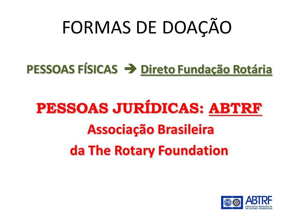 É uma entidade civil, sem fins lucrativos, criada para buscar e promover o recebimento de doações para a Fundação Rotária efetuadas por Pessoas Jurídicas.