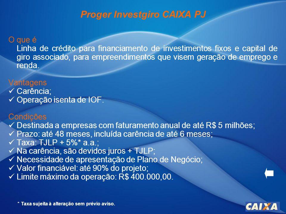 Finame O que é Operação destinada a financiar máquinas e equipamentos nacionais novos, cadastrados no BNDES.