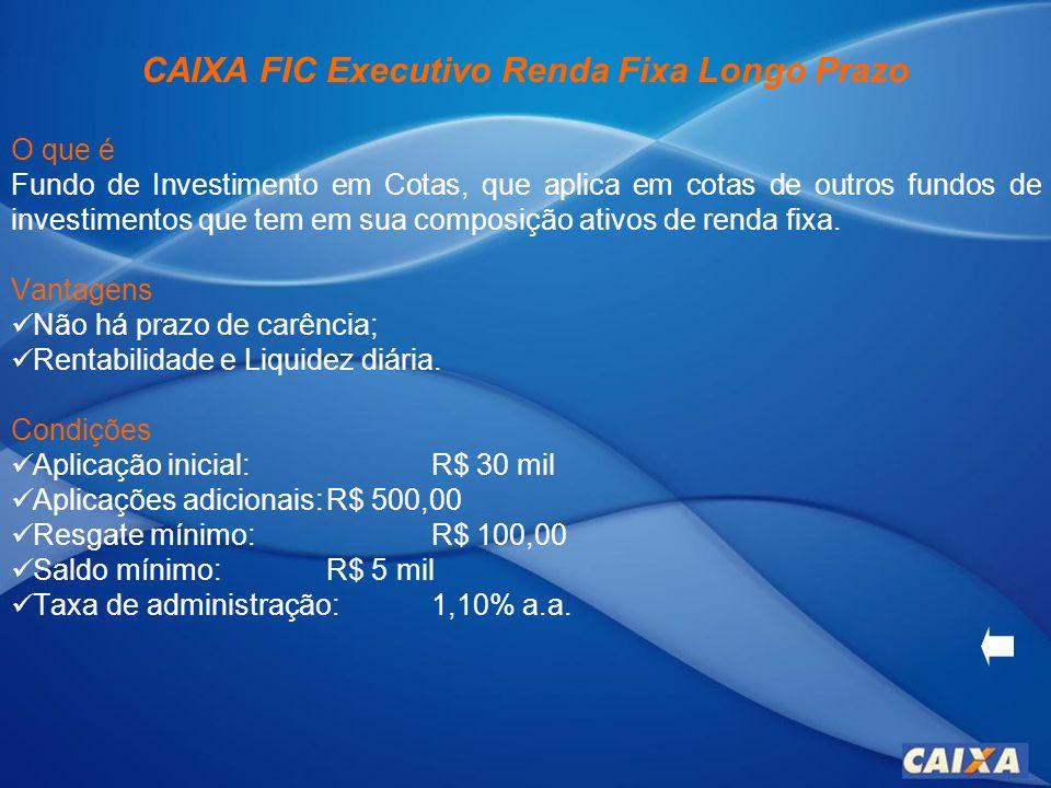 CDB Pré-Fixado O que é Título de renda fixa, nominativo, emitido sob forma escritural, com a condição de pagamento em data pré-estabelecida, acrescido de rendimentos prefixados.