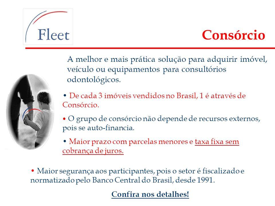 A melhor e mais prática solução para adquirir imóvel, veículo ou equipamentos para consultórios odontológicos. De cada 3 imóveis vendidos no Brasil, 1