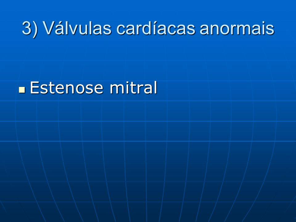 4) Válvulas cardíacas mecânicas T.A obrigatória sem interrupção T.A obrigatória sem interrupção Obs: ETE infrequente em válvulas de origem suína (biológicas?)