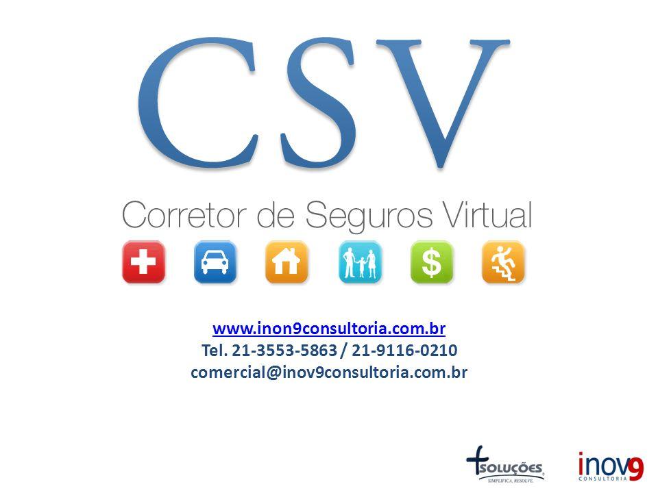 www.inon9consultoria.com.br www.inon9consultoria.com.br Tel. 21-3553-5863 / 21-9116-0210 comercial@inov9consultoria.com.br