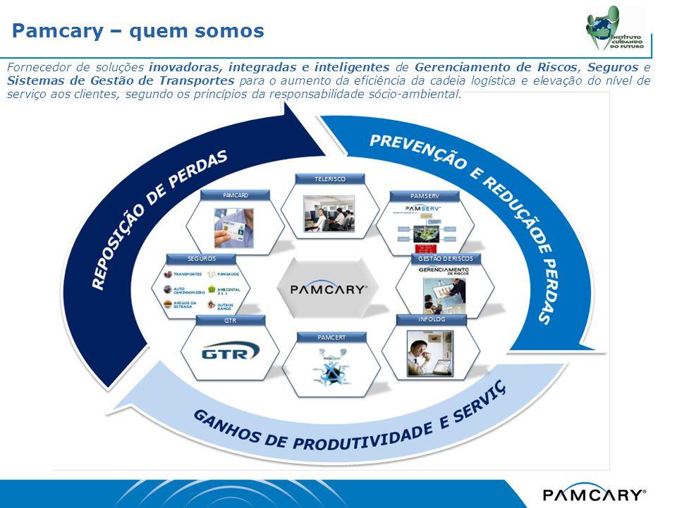 Fornecedor de soluções inovadoras, integradas e inteligentes de Gerenciamento de Riscos, Seguros e Sistemas de Gestão de Transportes para o aumento da