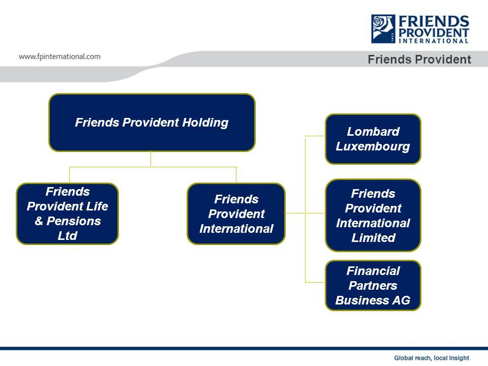 O começo… Deixando para trás seu passado de companhia mutual, Friends Provident ingressa na FTSE 100, e ingressa no mercado de capitais do Reino Unido.