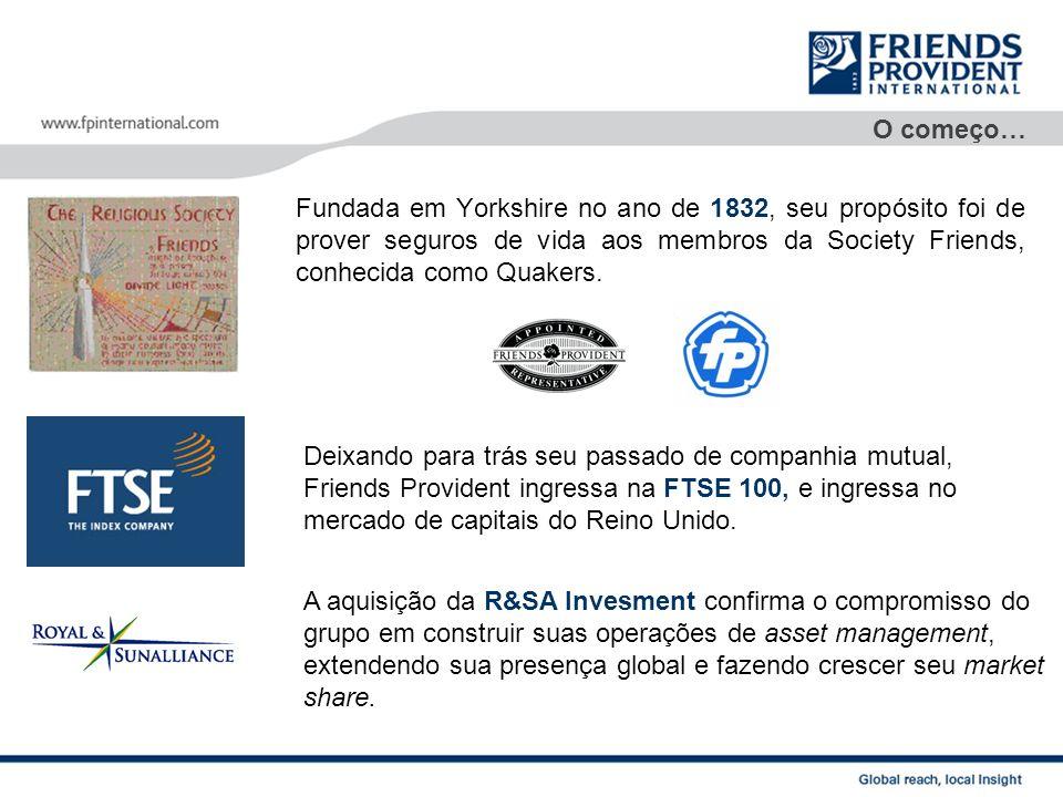 SupraInvest Na America Latina SupraInvest representa de maneira ininterrupta a Friends Provident Internacional desde o ano de 1992.