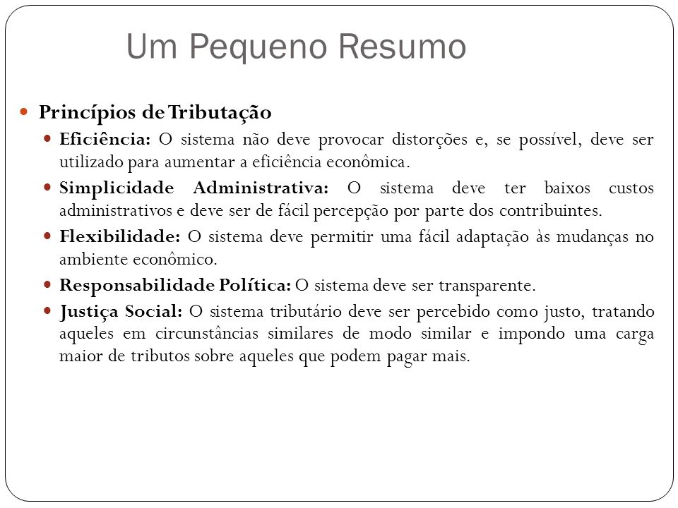 45) (AFRF – 2002-2 – Esaf) Em relação à composição da receita tributária no Brasil, indique a opção incorreta.