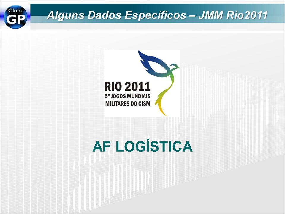 Alguns Dados Específicos – JMM Rio2011 AF LOGÍSTICA