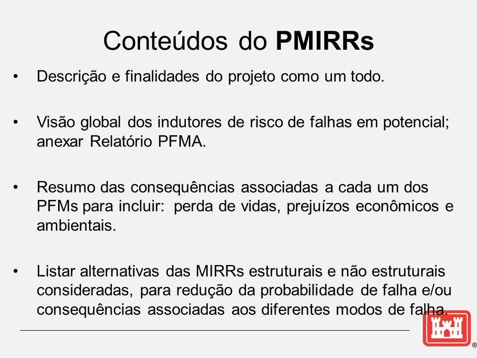 Descrição e finalidades do projeto como um todo. Visão global dos indutores de risco de falhas em potencial; anexar Relatório PFMA. Resumo das consequ