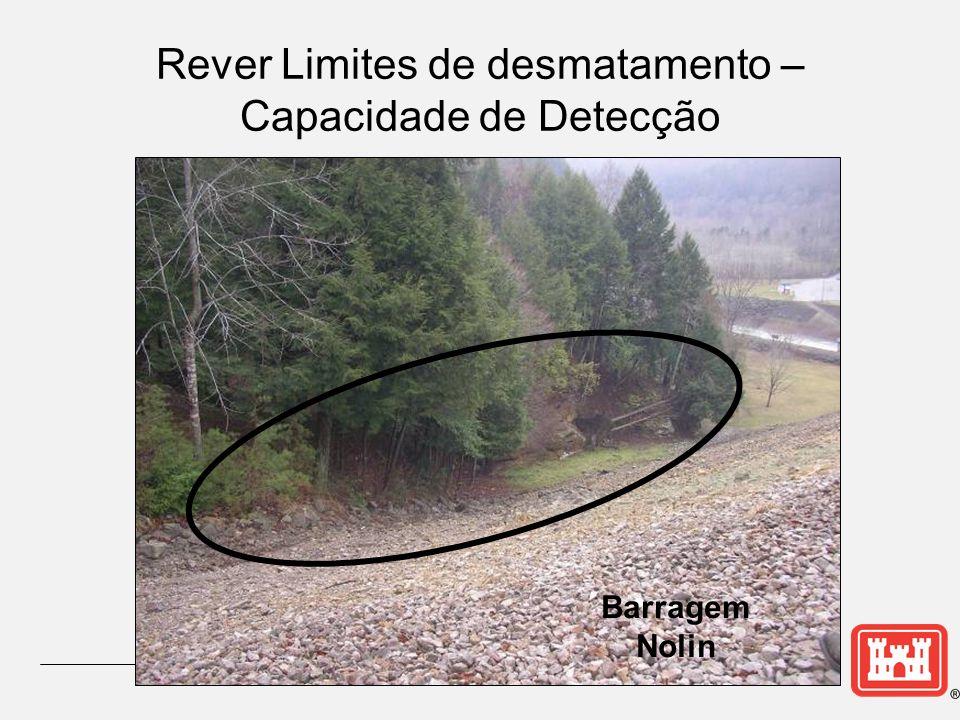 Rever Limites de desmatamento – Capacidade de Detecção Barragem Nolin