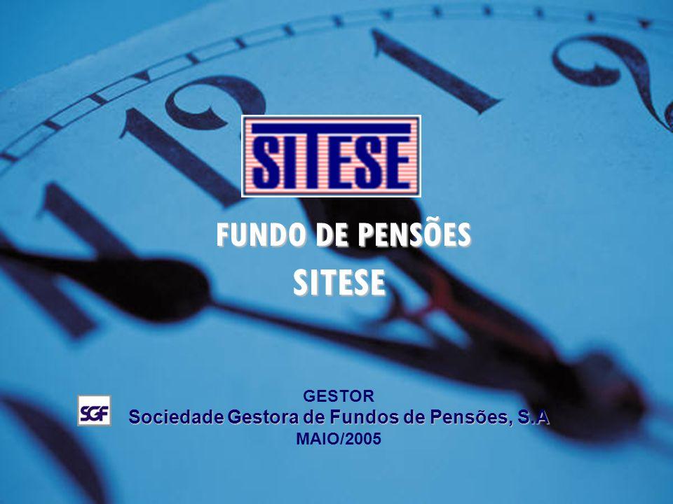 1. FUNDO DE PENSÕES FUNDO DE PENSÕESSITESE GESTOR Sociedade Gestora de Fundos de Pensões, S.A MAIO/2005