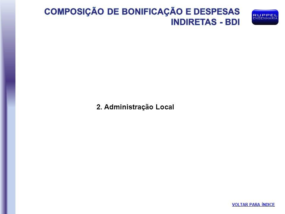 2. Administração Local