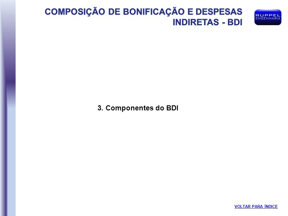 3. Componentes do BDI