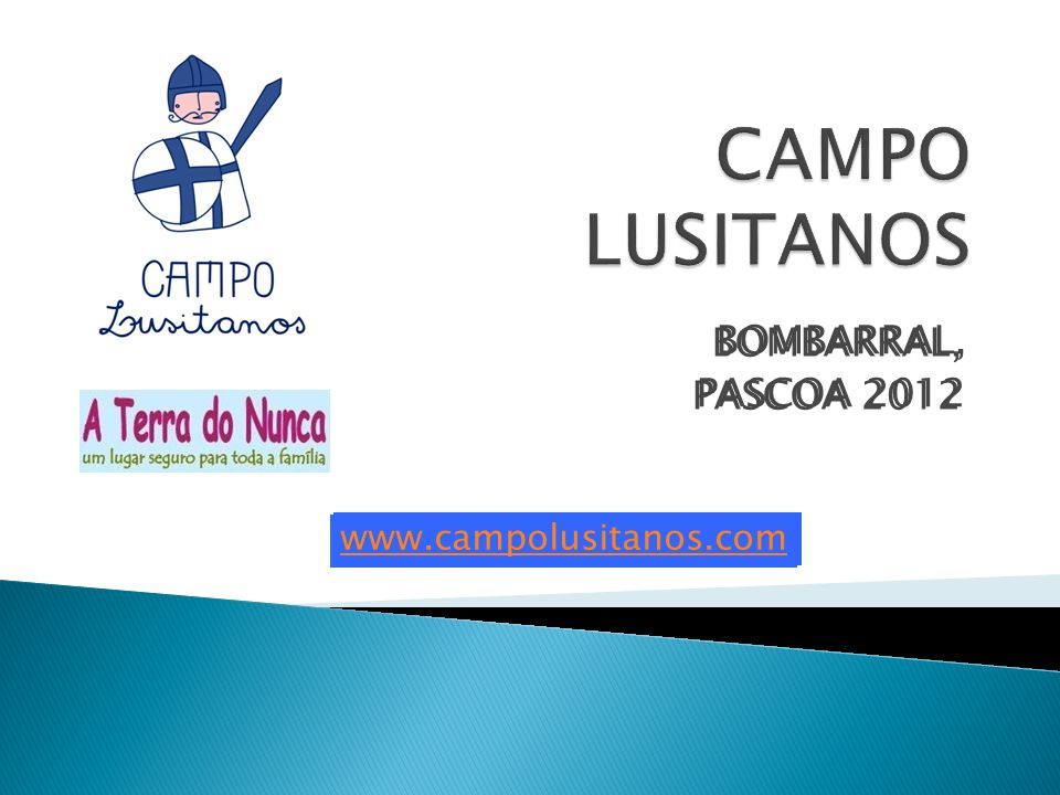 BOMBARRAL, PASCOA 2012 www.campolusitanos.com BOMBARRAL, PASCOA 2012 www.campolusitanos.com