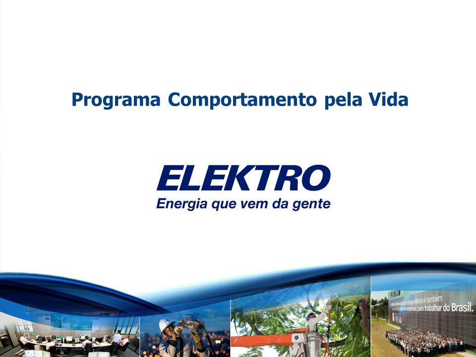 www.elektro.com.br Titulo (Tahoma 28, branco, bold) Elektro Programa Comportamento pela Vida Março 2012 Programa Comportamento pela Vida