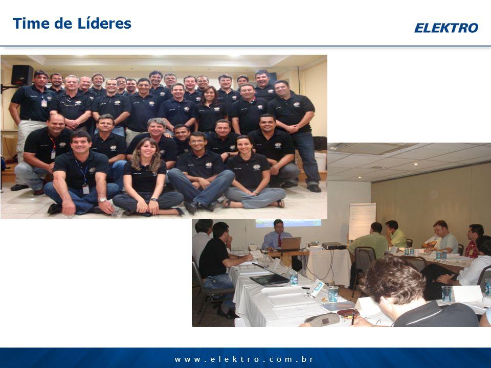 www.elektro.com.br Time de Líderes