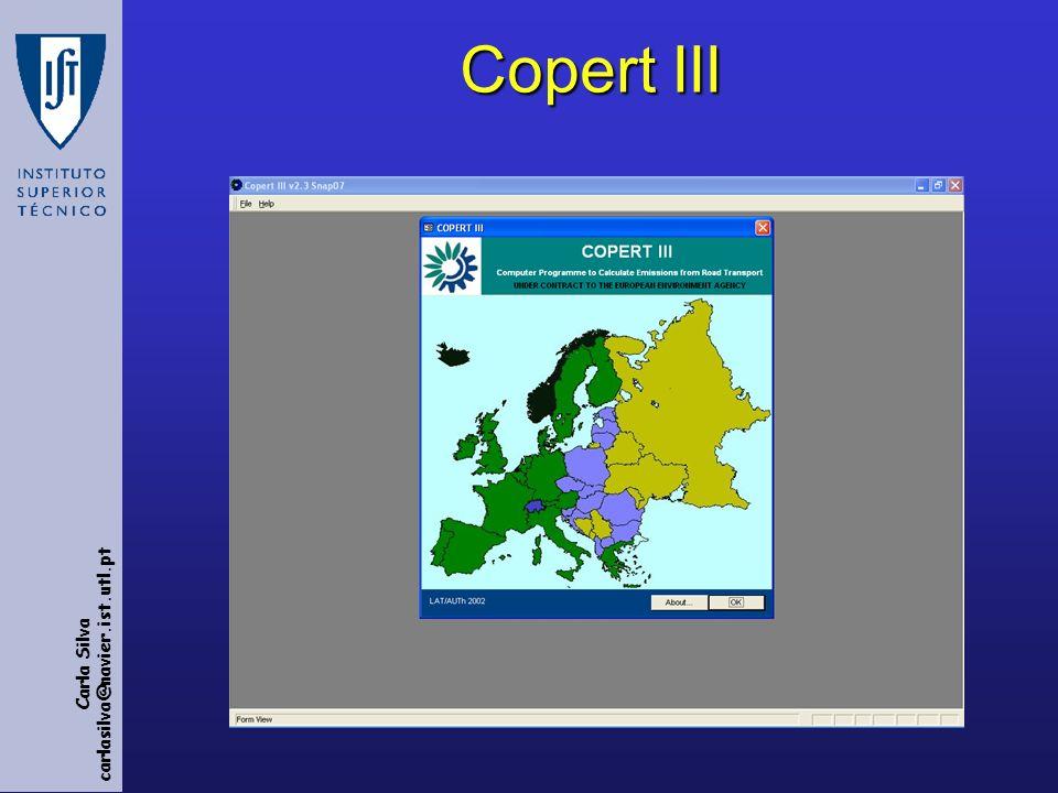 Carla Silva carlasilva@navier.ist.utl.pt Copert III